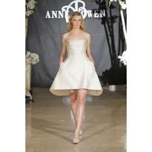 Anne Bowen Collection Blue Strapless Formal Dress